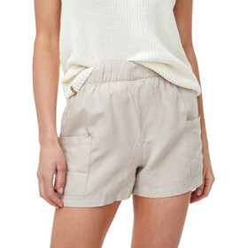 tentree Linen Offshore Pantaloncini Donna, beige